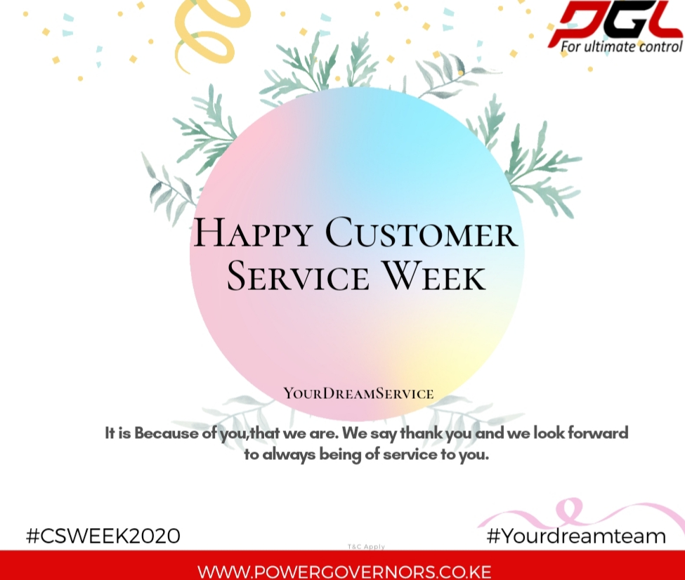 As we embark on this month of October, we stand to reaffirm our passion, commitment and dedication to serve our customers in all our branches across the country